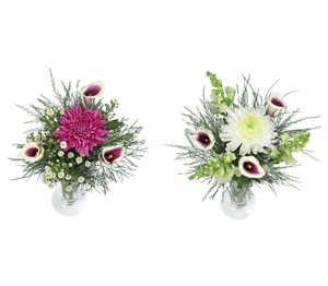 Abbildung des Angebots Calla-Deko-Chrysanthemenstrauß