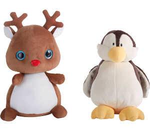 Abbildung des Angebots NICI Plüschtier »Pinguin« oder »Rentier«