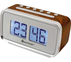 Abbildung des Angebots SOUNDMASTER Retro-Uhrenradio »UR105BR«