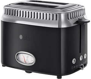 Abbildung des Angebots RUSSELL HOBBS Kompakt-Toaster »21681-56« Retro Classic Noir