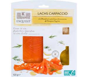 Abbildung des Angebots EXQUISIT Lachs-Carpaccio