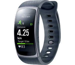 Abbildung des Angebots SAMSUNG Smartwatch mit Pulssensor »Gear Fit2«