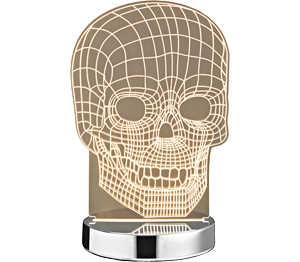 Abbildung des Angebots LED-Tischleuchte »Totenkopf«