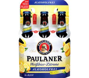 Abbildung des Angebots PAULANER Weißbier-Zitrone alkoholfrei