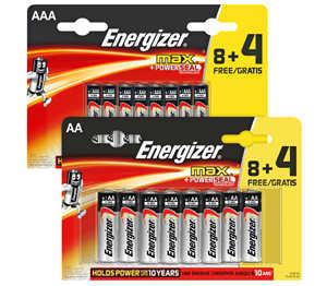 Abbildung des Angebots ENERGIZER Batterien AA oder AAA