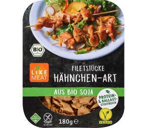 Abbildung des Angebots LIKEMEAT Filetstücke Hähnchen- o. Pulled-Pork-Art