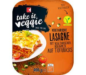 Abbildung des Angebots K-TAKE IT VEGGIE Lasagne