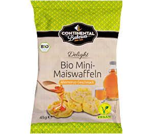 Abbildung des Angebots CONTINENTAL BAKERIES Bio-Mini-Maiswaffeln