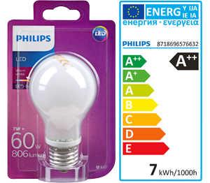 Abbildung des Angebots PHILIPS LED-Birne E27 matt 6,7 W