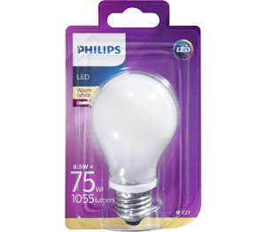Abbildung des Angebots PHILIPS LED-Birne E27 matt 8,5 W