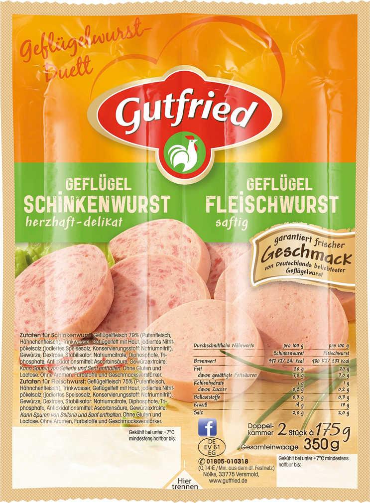Abbildung des Angebots GUTFRIED Geflügelwurst
