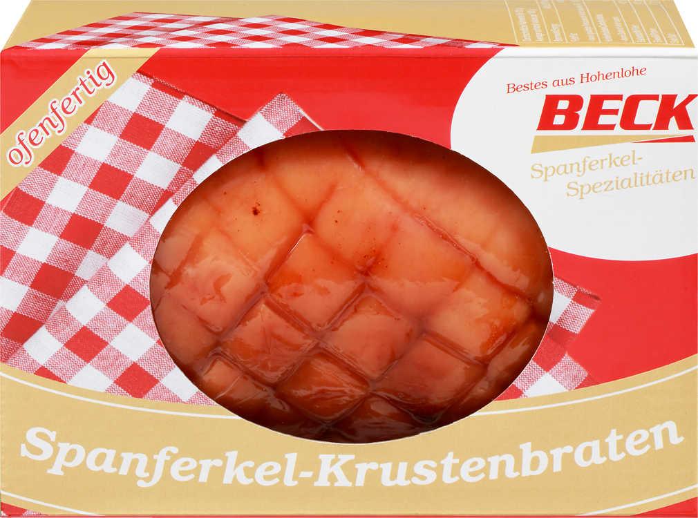 Abbildung des Angebots BECK Spanferkel-Krustenbraten