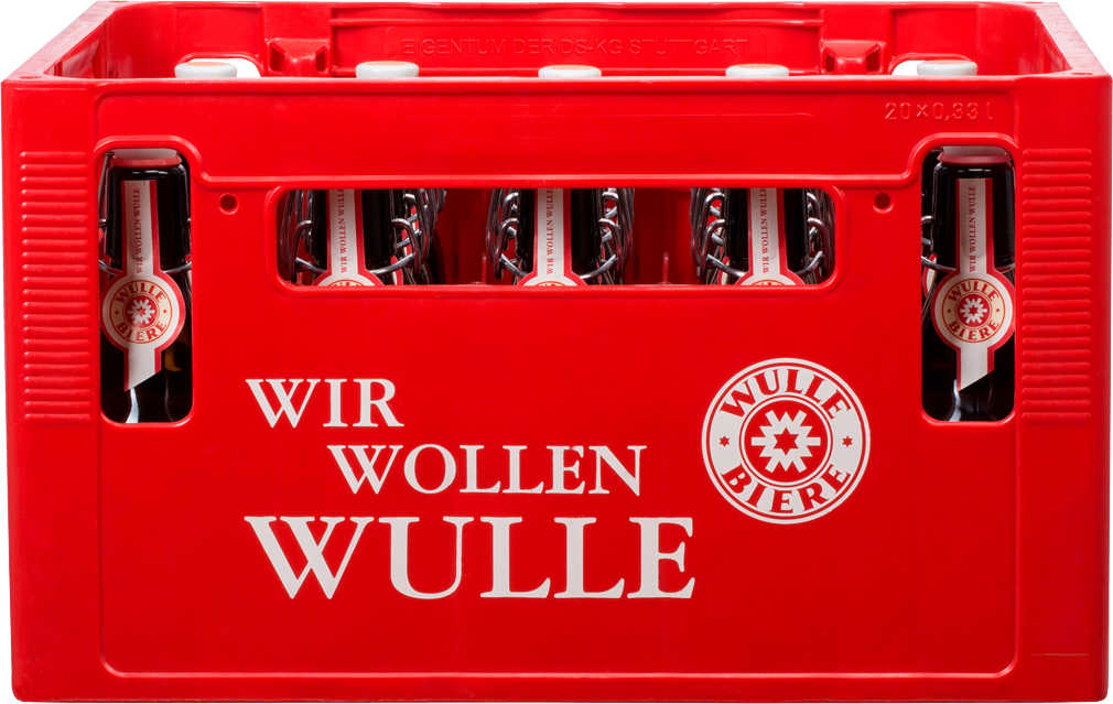 Abbildung des Angebots WULLE BIERE Vollbier Hell