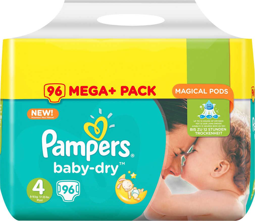 Abbildung des Angebots PAMPERS Windeln Mega-Pack