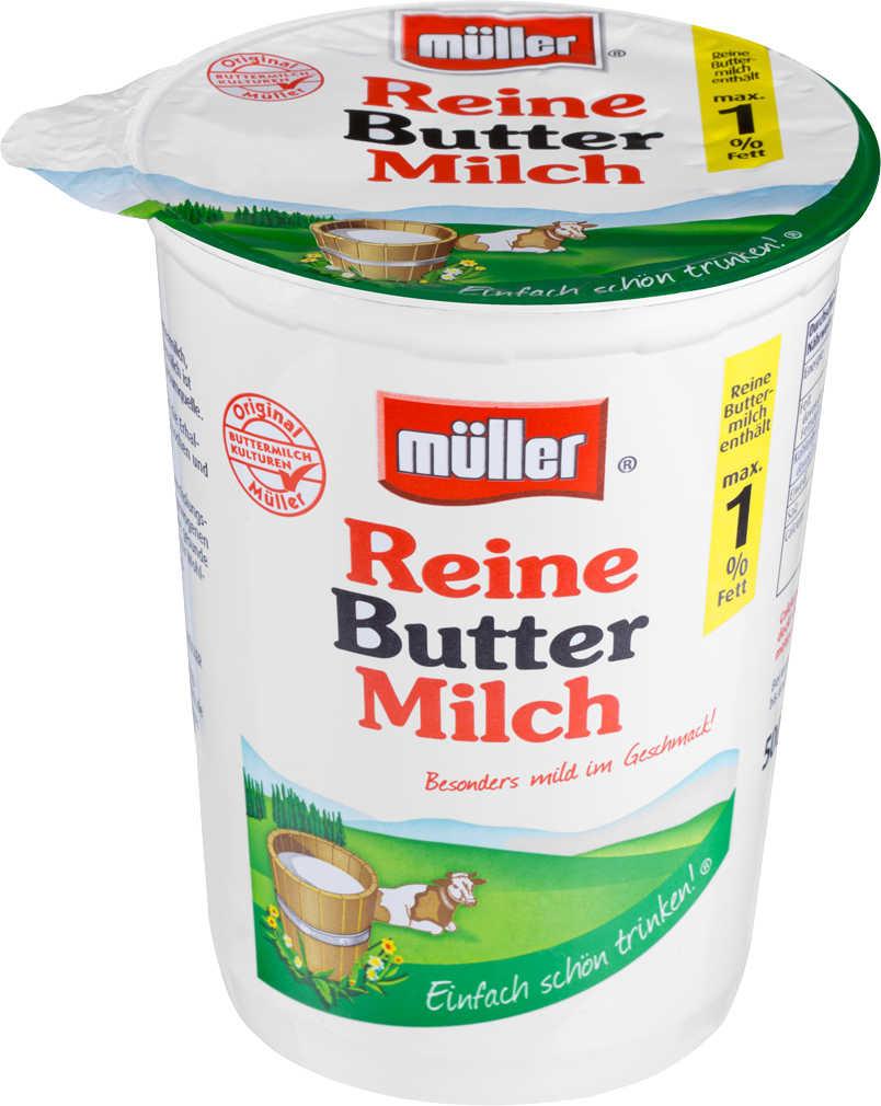 Abbildung des Angebots MÜLLER reine Buttermilch
