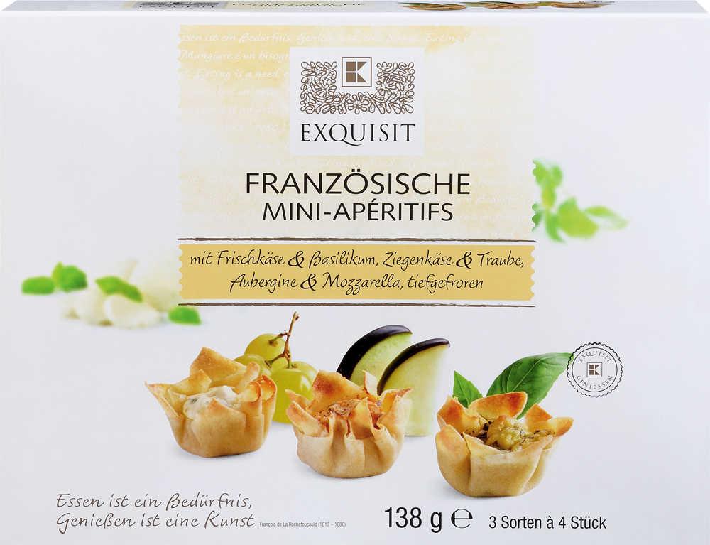 Abbildung des Angebots EXQUISIT Französische Mini-Apéritifs