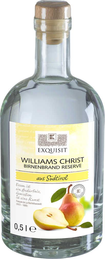 Abbildung des Angebots EXQUISIT Williams Christ Birnenbrand