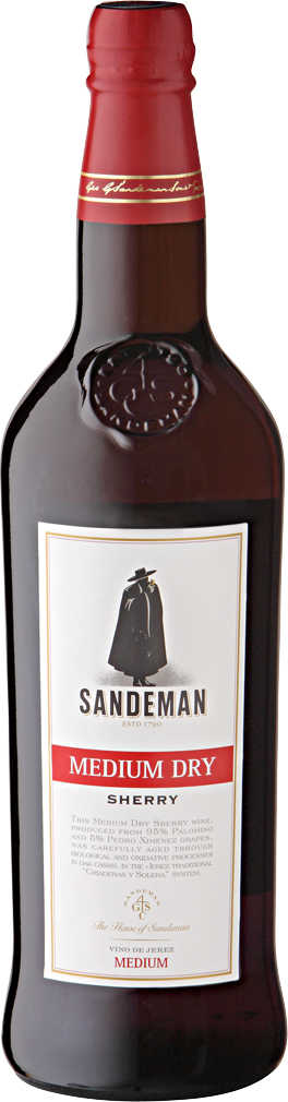Abbildung des Angebots SANDEMAN Sherry medium dry