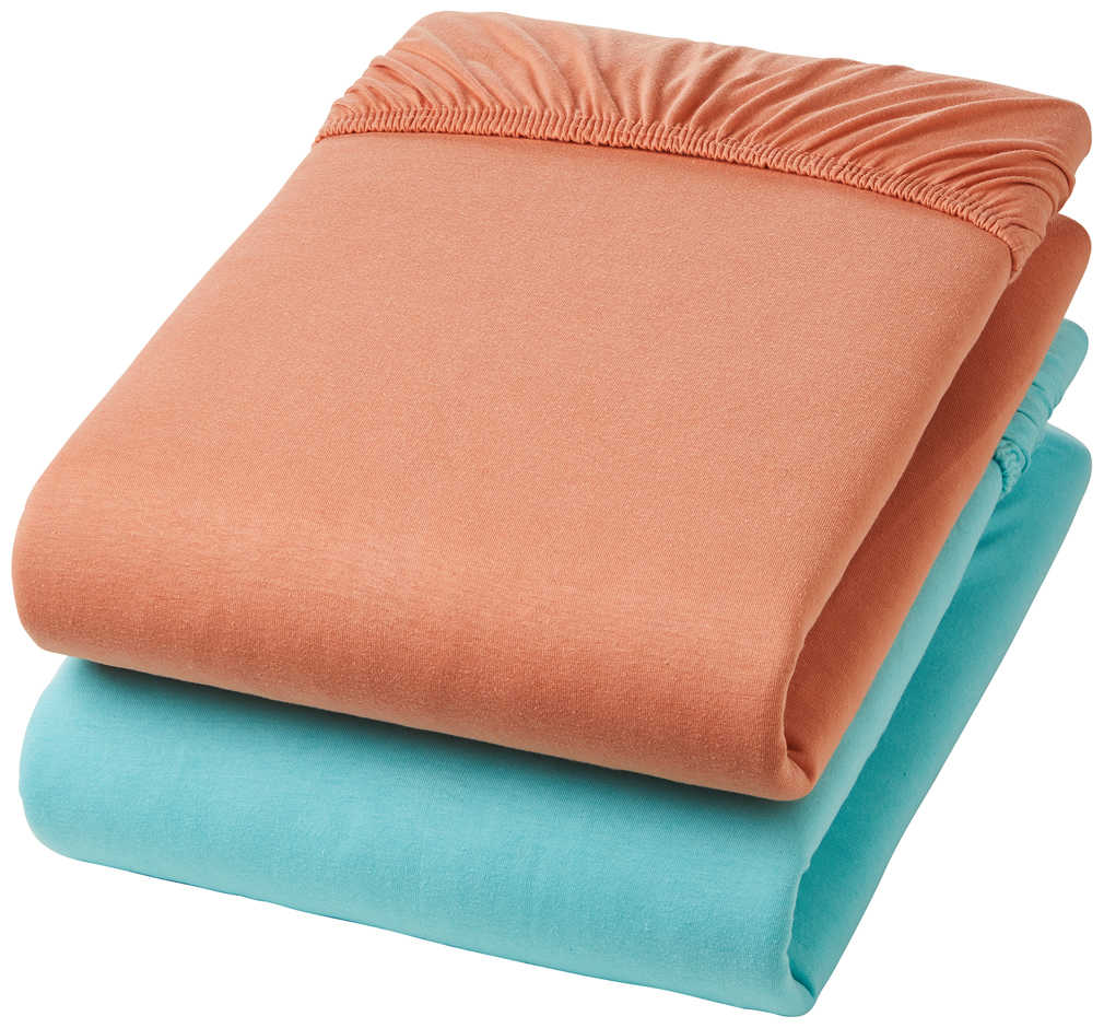 Abbildung des Angebots K-CLASSIC Jersey-Spannbetttuch ca. 90 - 100 x 200 cm