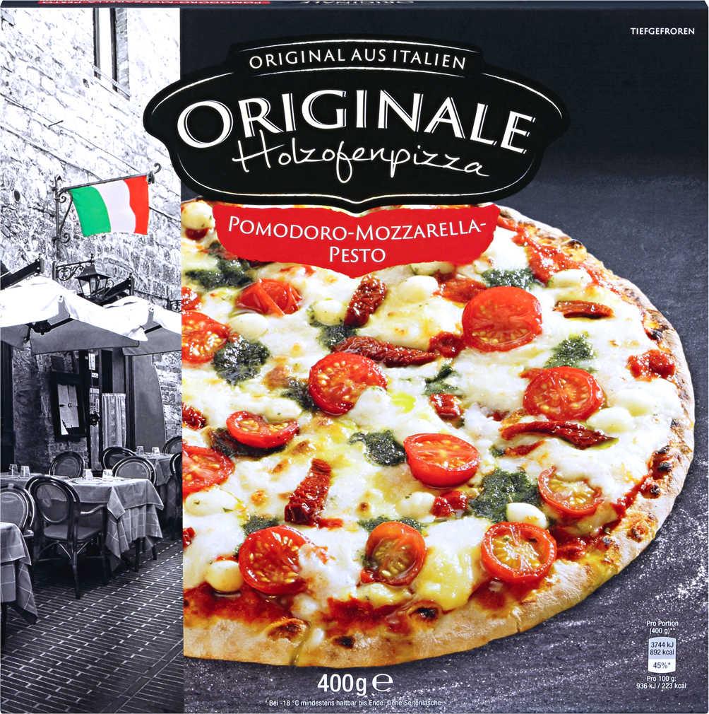 Abbildung des Angebots MANTUA Holzofenpizza