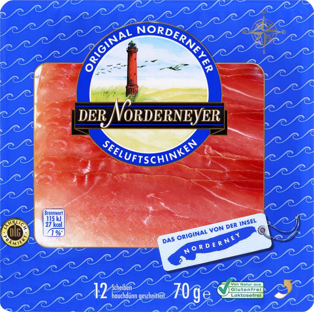 Abbildung des Angebots DER NORDERNEYER Seeluftschinken