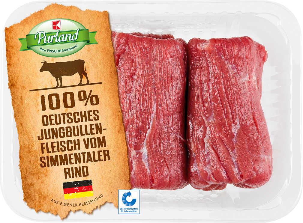 Abbildung des Angebots K-PURLAND Rinderrouladen vom Simmentaler Jungbullen