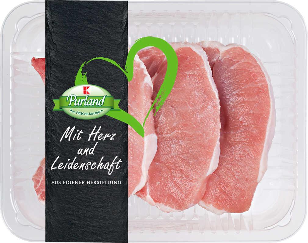 Abbildung des Angebots K-PURLAND Schweinekotelett