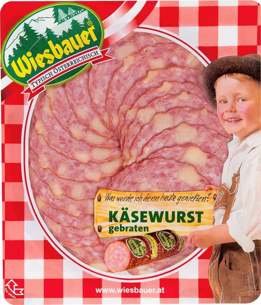 Abbildung des Angebots WIESBAUER Käsewurst, Beskada oder Winzerwurst