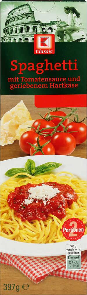 Abbildung des Angebots K-CLASSIC Fertiggerichte Spaghetti