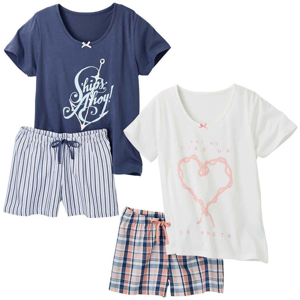 Abbildung des Angebots K-CLASSIC Damen-Pyjama