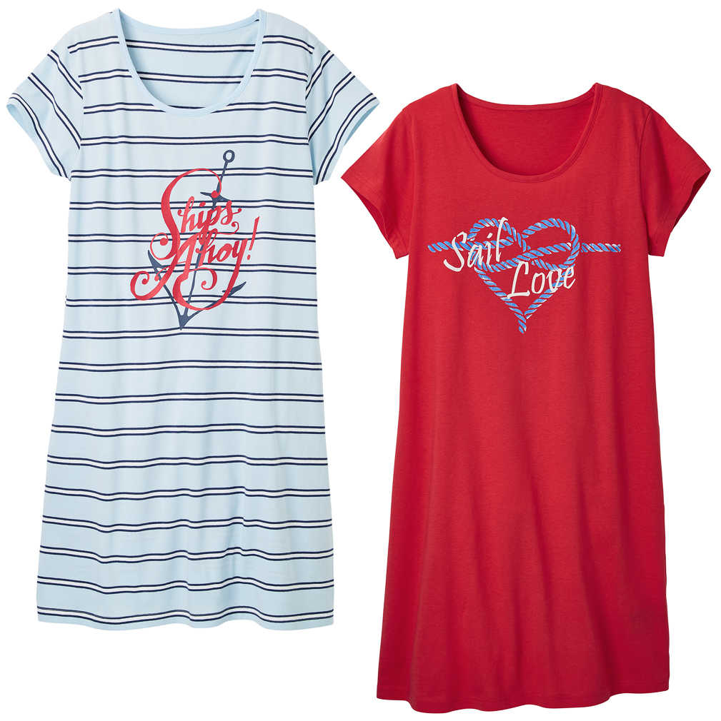 Abbildung des Angebots K-CLASSIC Damen-Sleepshirt