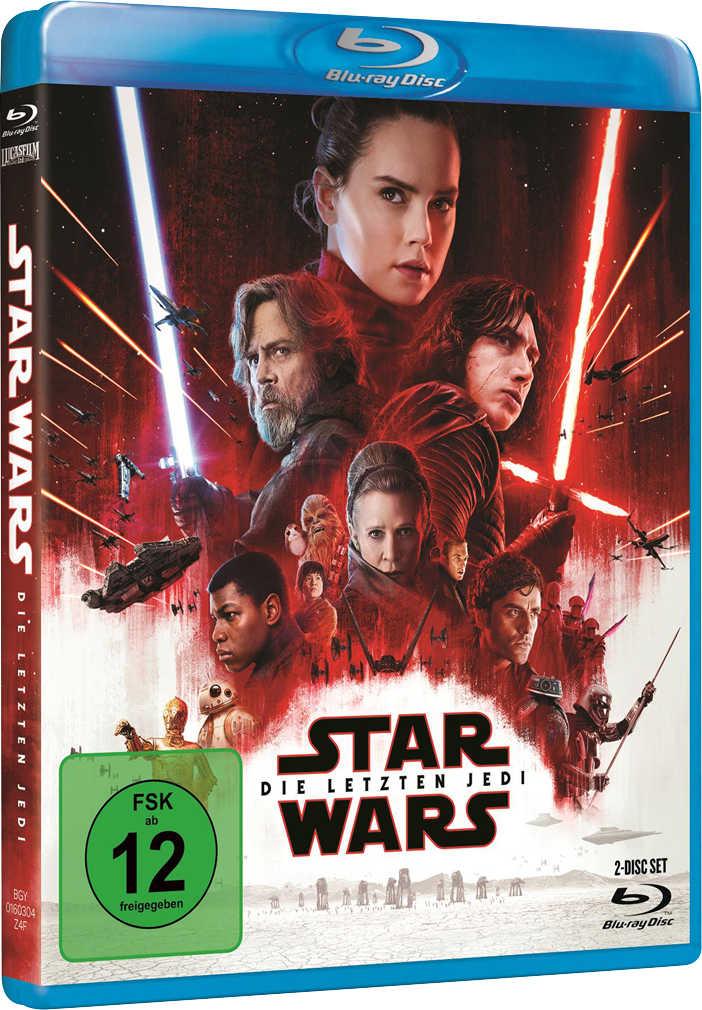 Abbildung des Angebots Blu-ray Star Wars: Die letzten Jedi