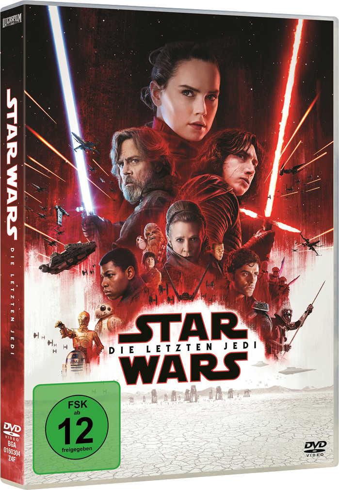 Abbildung des Angebots DVD Star Wars: Die letzten Jedi