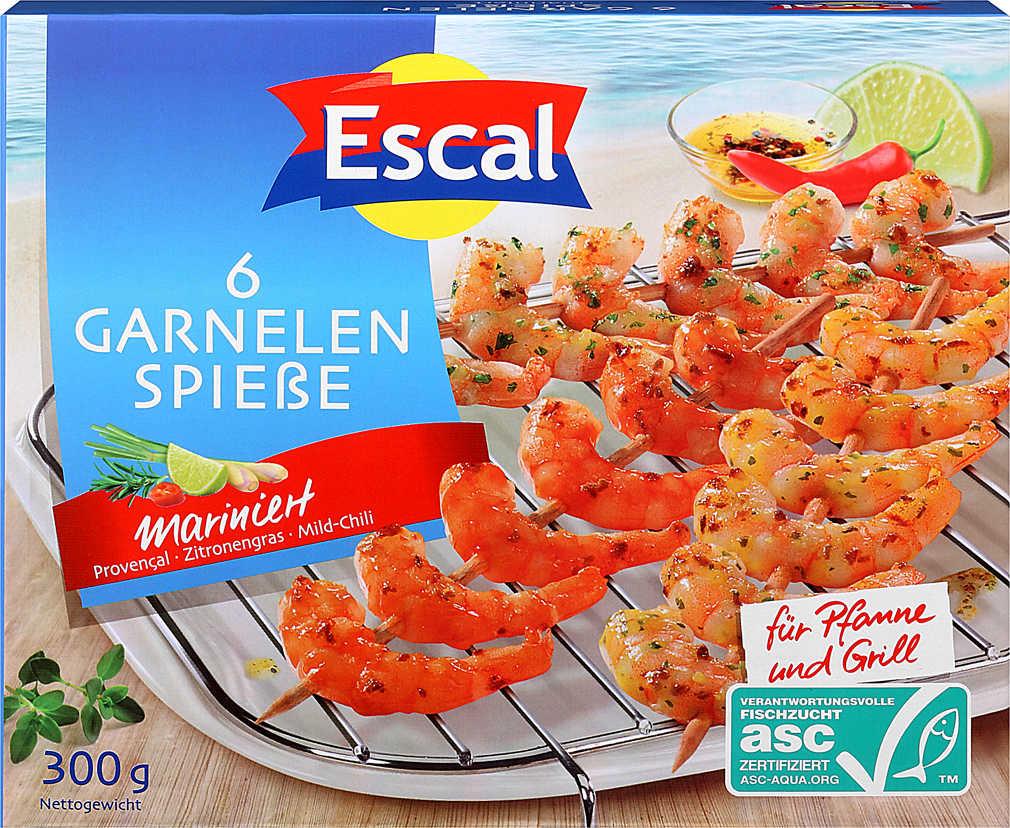 Abbildung des Angebots ESCAL Garnelenspieße