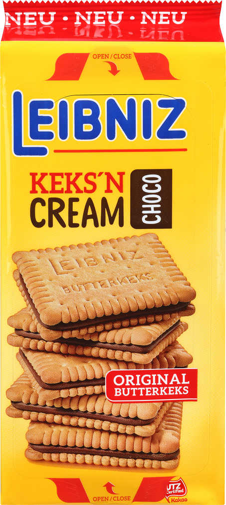 Abbildung des Angebots LEIBNIZ Keks'n Cream Butterkeks