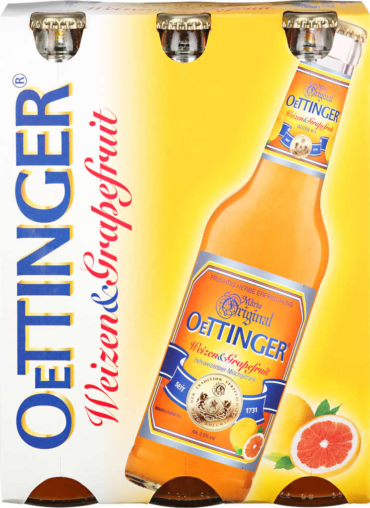Abbildung des Angebots ORIGINAL OETTINGER Weizen & Grapefruit