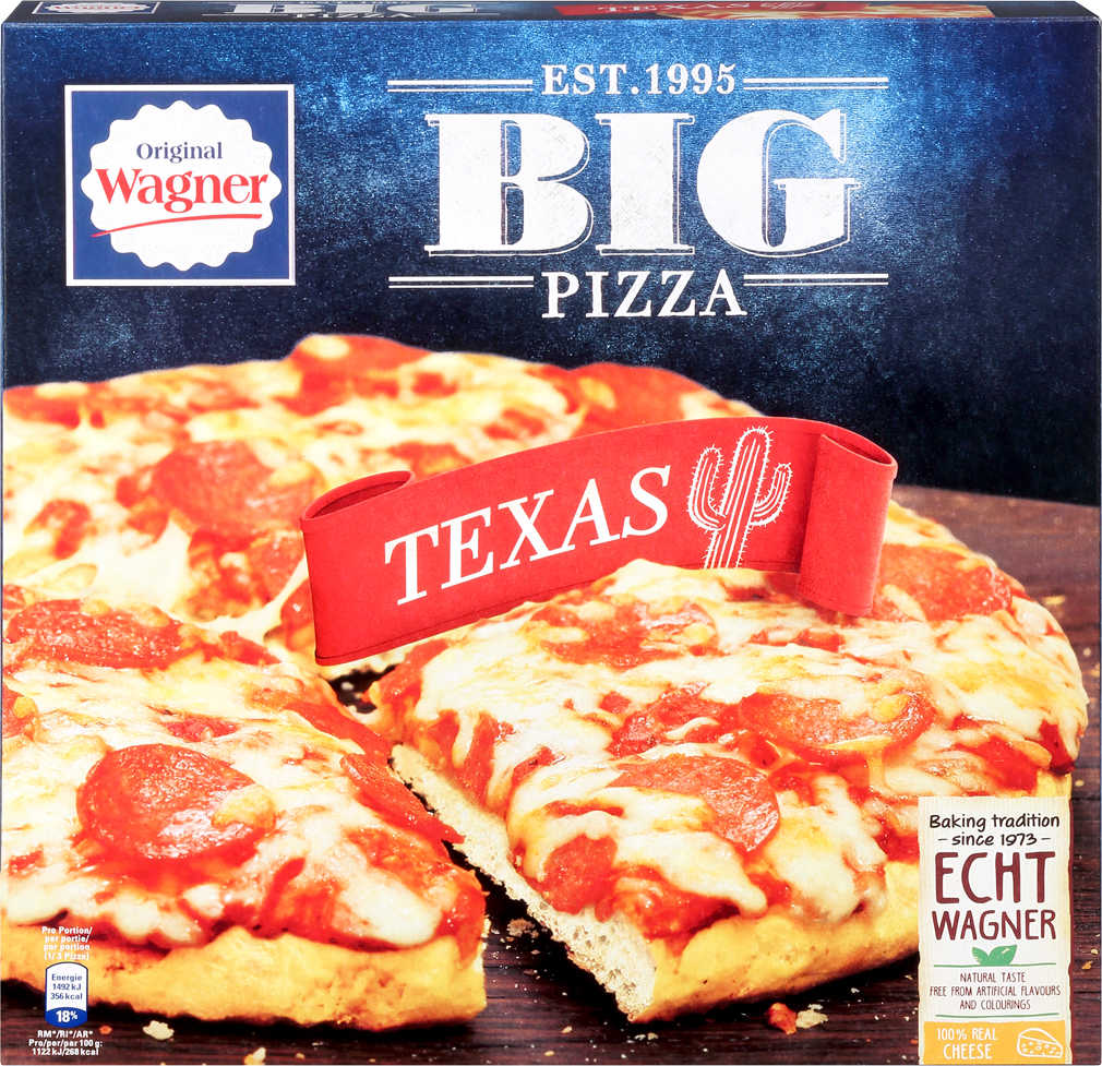 Abbildung des Angebots ORIGINAL WAGNER Backfrische oder Big Pizza