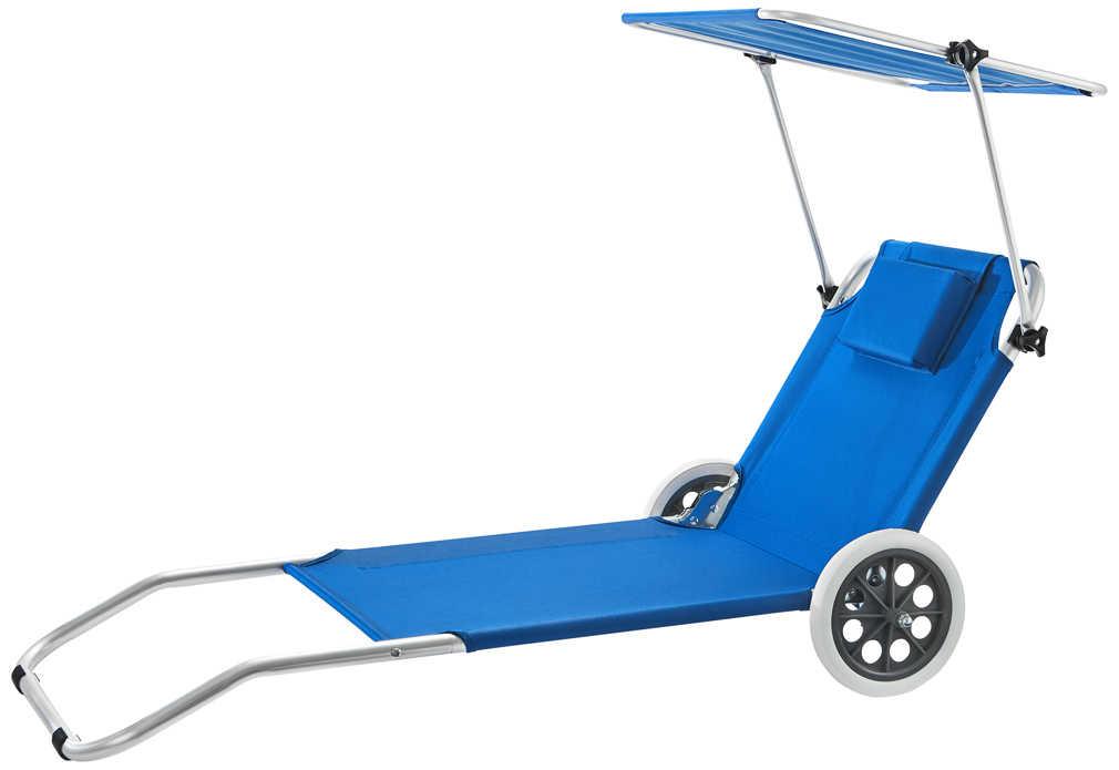 Abbildung des Angebots K-CLASSIC Trolley-Liege mit Sonnendach