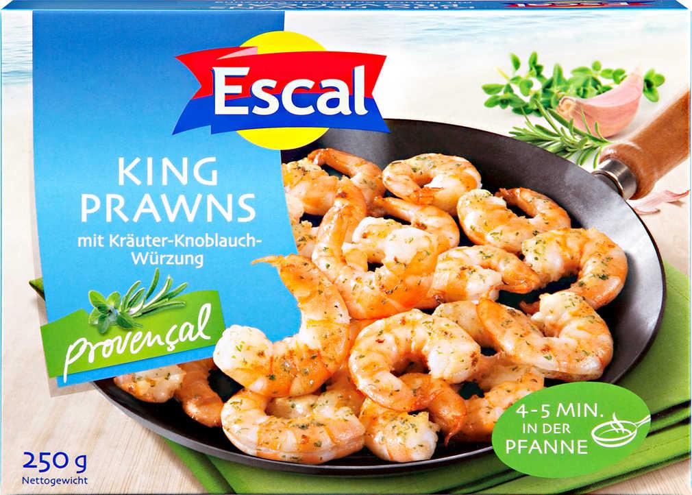 Abbildung des Angebots ESCAL King Prawns Provencal