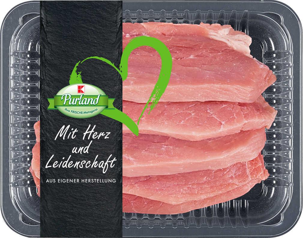Abbildung des Angebots K-PURLAND Schweineschnitzel