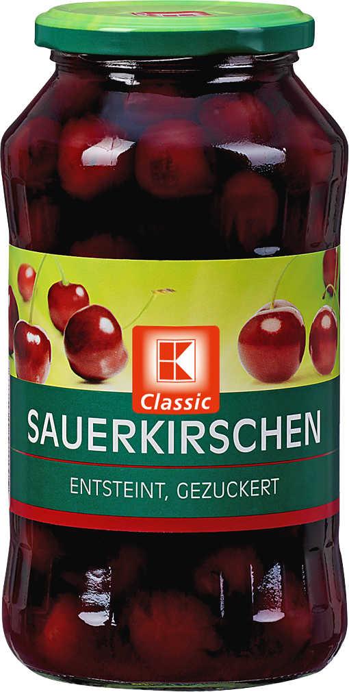 Abbildung des Angebots K-CLASSIC Sauerkirschen