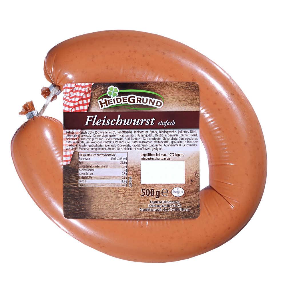 Abbildung des Angebots HEIDEGRUND Fleischwurst
