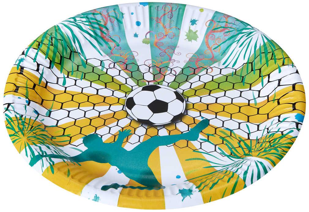 Abbildung des Angebots Pappteller »WM«