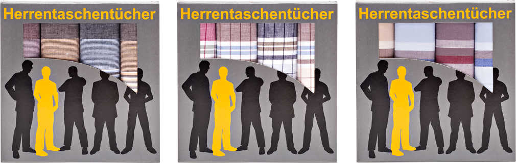 Abbildung des Angebots Herren-Taschentücher