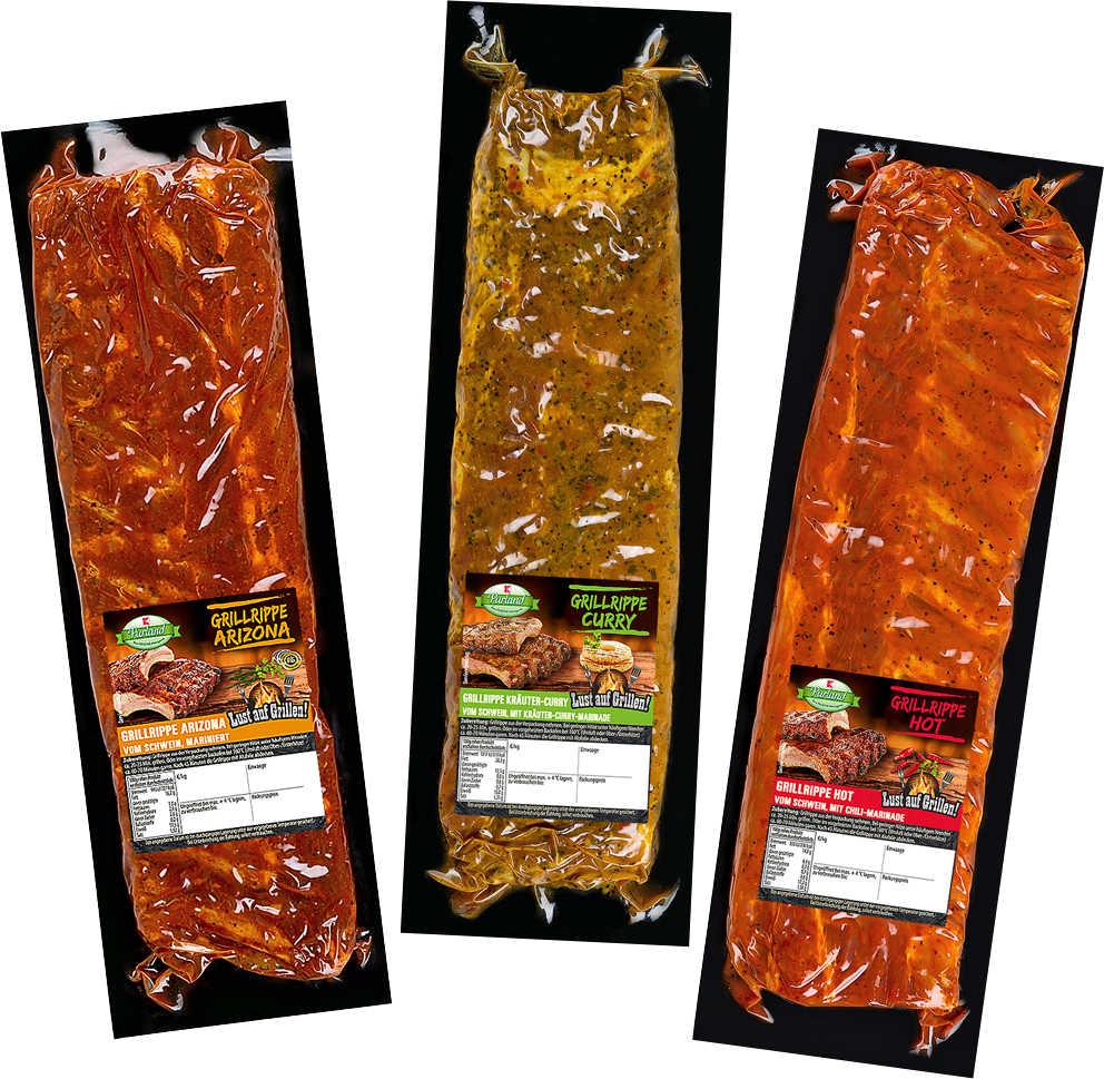 Abbildung des Angebots K-PURLAND Grillrippe Hot vom Schwein, mit Chili-Marinade
