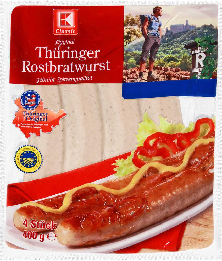 Abbildung des Angebots K-CLASSIC Thüringer Rostbratwurst gebrüht