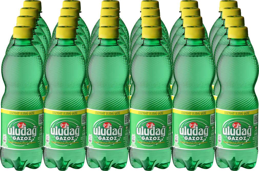 Abbildung des Angebots Ein Großpack ULUDAG Gazoz türk. Limonade