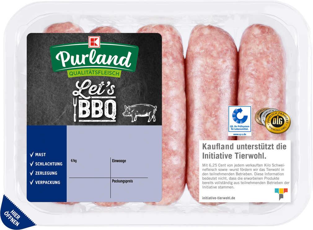 Abbildung des Angebots K-PURLAND grobe Bratwurst