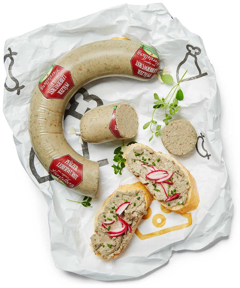 Abbildung des Angebots Aus eigener Herstellung Pfälzer Leberwurst