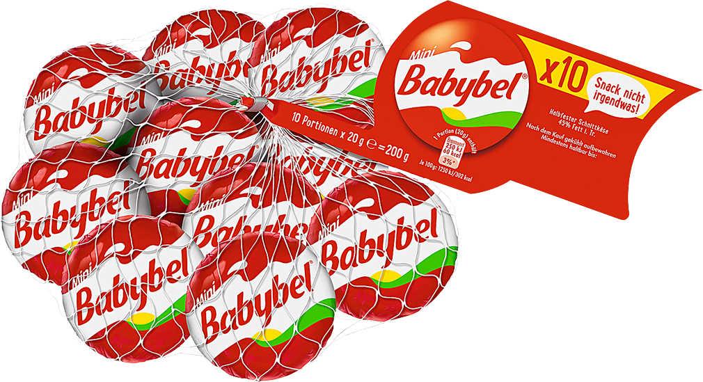 Abbildung des Angebots BABYBEL halbfester Schnittkäse